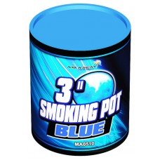 SMOKING POT BLUE