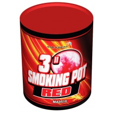 SMOKING POT RED